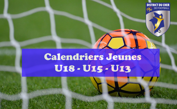 calendriers championnats jeunes district du cher de football. Black Bedroom Furniture Sets. Home Design Ideas