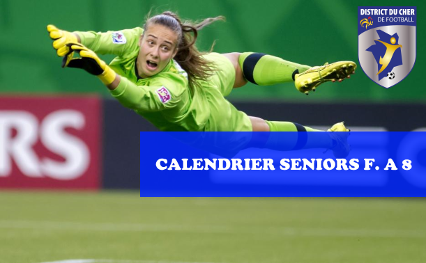Football Feminin Calendrier.Football Feminin District Du Cher De Football